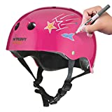 Wipeout Dry Erase Kids Helmet for Skateboarding and cycling