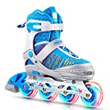 Papaison Women's Inline Skates with Light-up Wheels