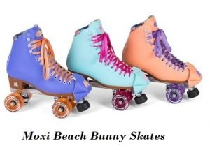 Moxi Beach Bunny Skates Different Colours