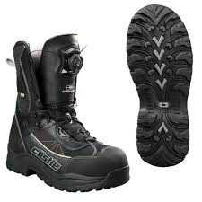 best snowmobile boots for wide feet