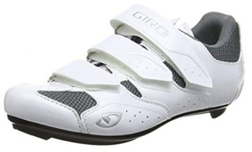 white giro womens cycling shoe
