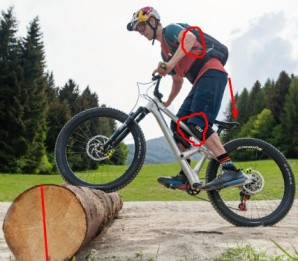 How to Get Over Logs on a Mountain Bike
