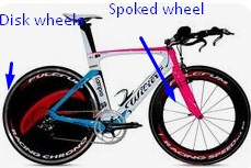 A triathlon or TT Bike